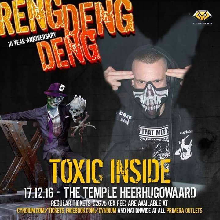 DJ ToXic Inside Tour Dates