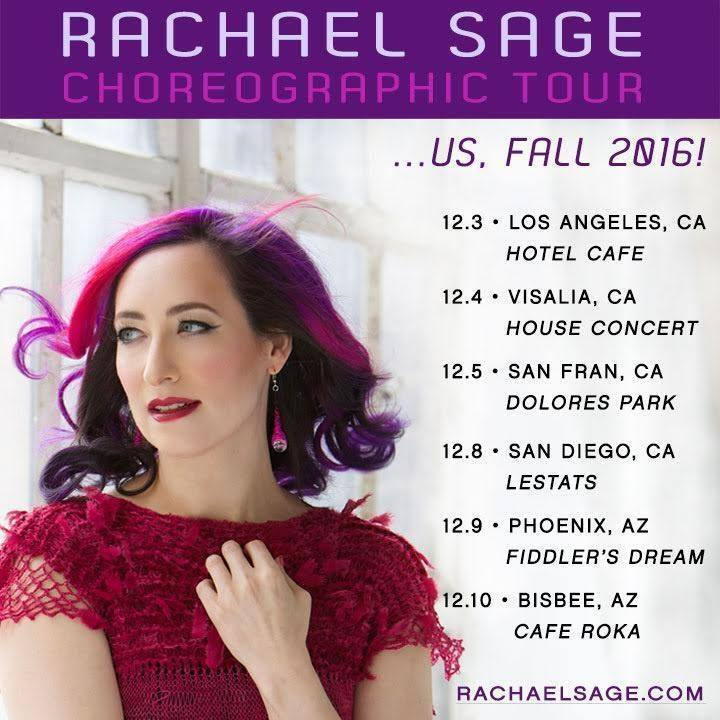 Rachael Sage @ Hotel Cafe - Hollywood, CA