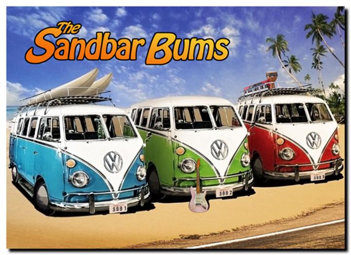 The Sandbar Bums Tour Dates