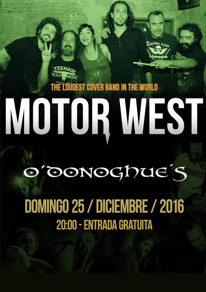 Motor West @ O'Donoghue's - Cadiz, Spain