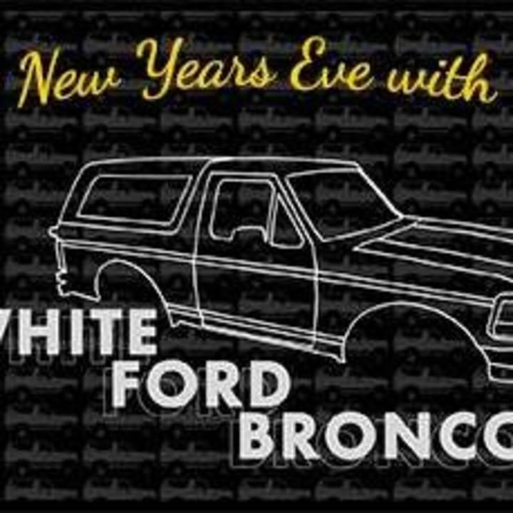 White Ford Bronco Tour Dates