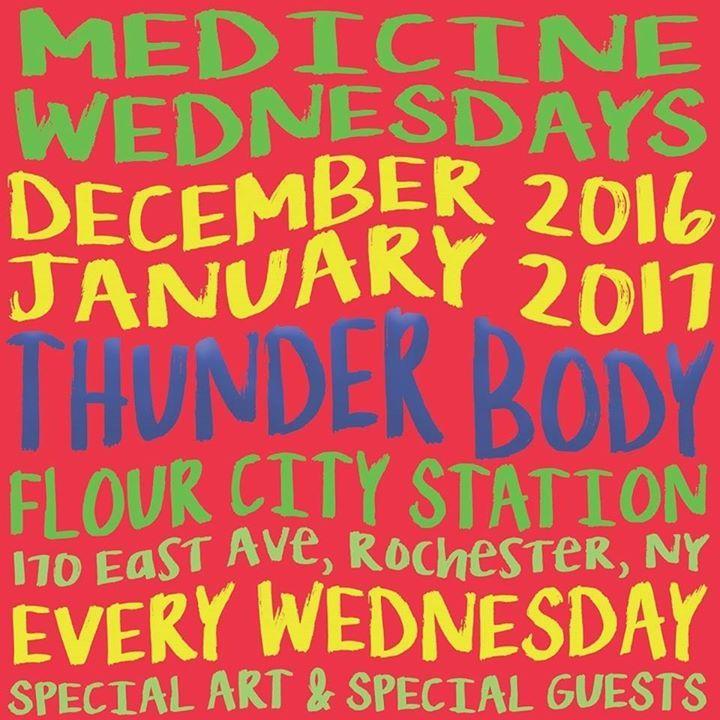 Thunder Body @ The Westcott Theater - Syracuse, NY