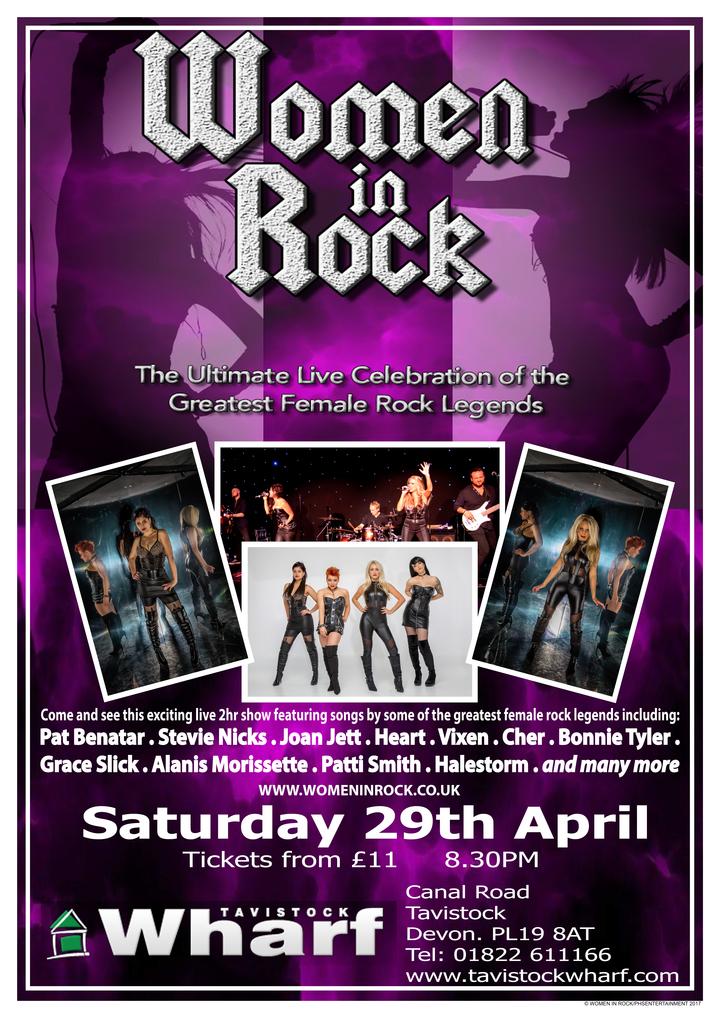 Women In Rock UK @ The Wharf - Tavistock, United Kingdom