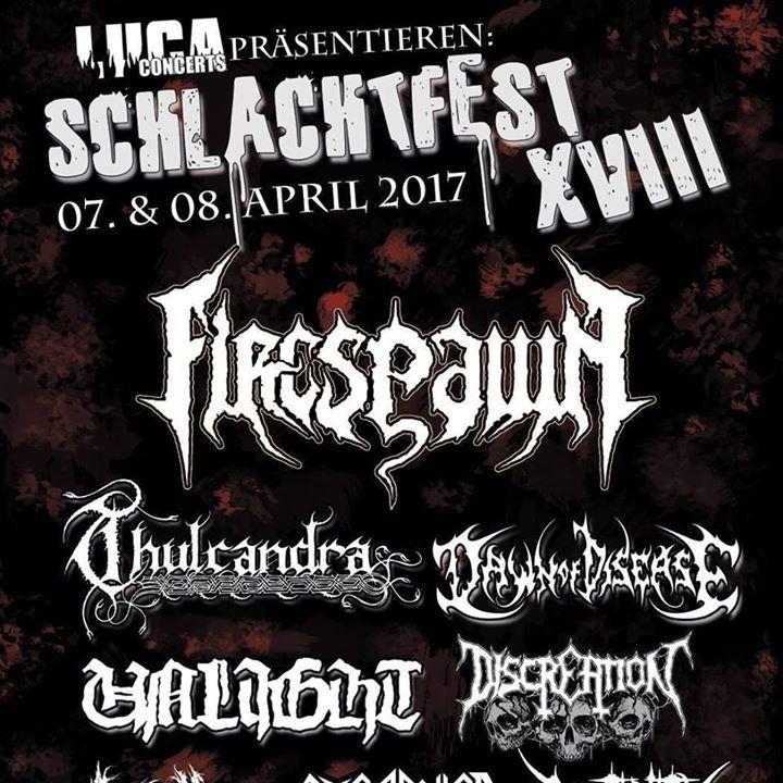Thulcandra Tour Dates