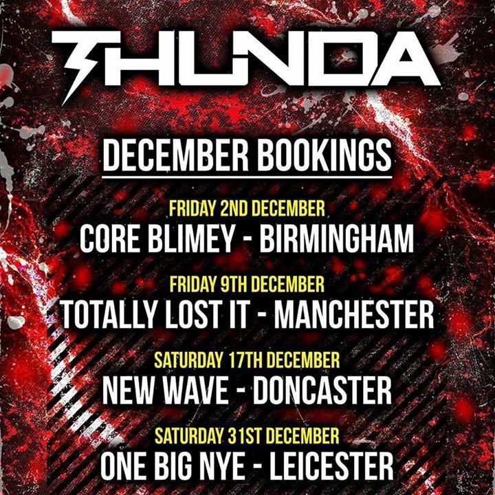 MC Thunda @ Phuture Beatz - Doncaster, United Kingdom