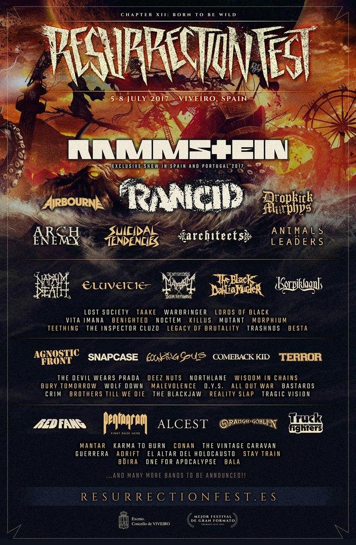 Arch Enemy @ Resurrection Fest - Viveiro, Spain