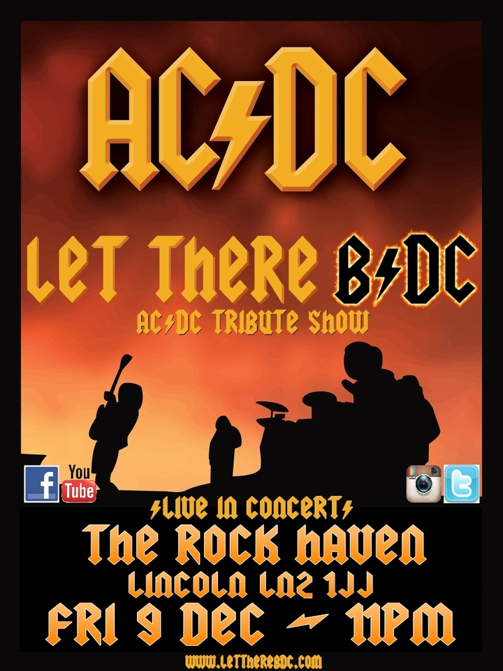 Let There B/DC - Ac/dc Tribute Band @ The Rock Haven - Lincoln, United Kingdom