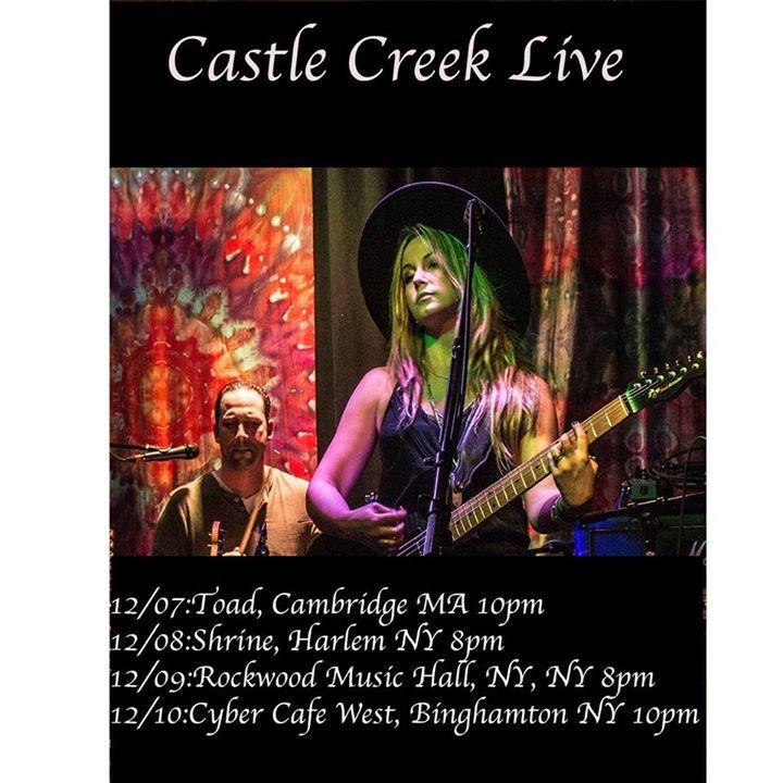 Castle Creek @ Rockwood Music Hall - New York, NY