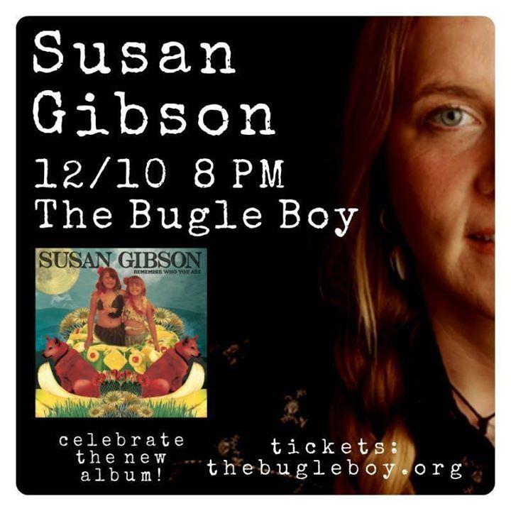Susan Gibson Tour Dates