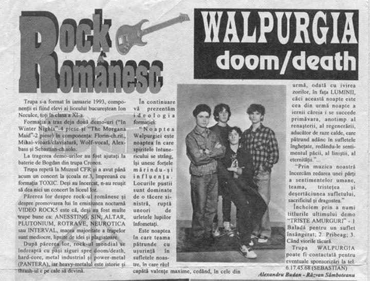 WalpurgiA Tour Dates