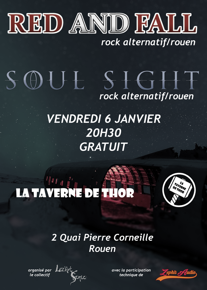 Soul Sight @ LA TAVERNE DE THOR - Rouen, France