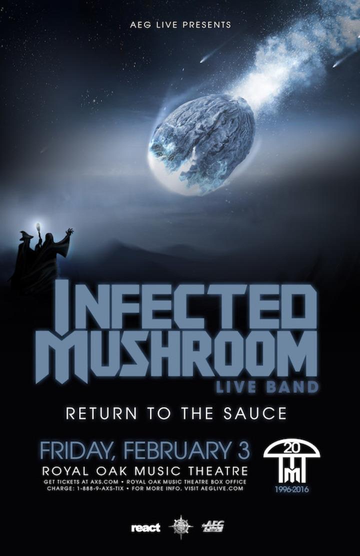 Infected Mushroom @ Royal Oak Music Theatre - Royal Oak, MI