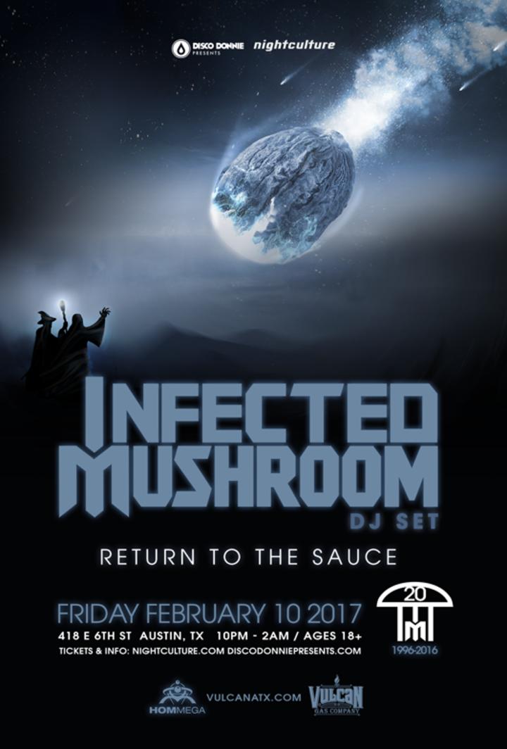 Infected Mushroom @ Vulcan Gas Company - Austin, TX