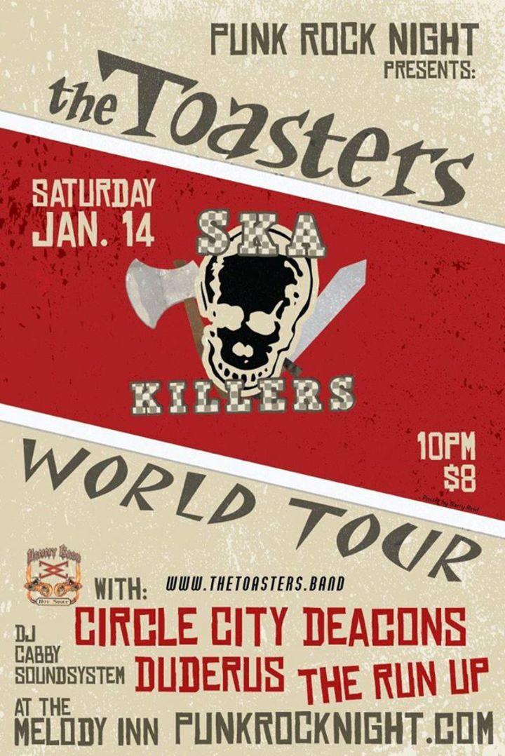 The Circle City Deacons Tour Dates