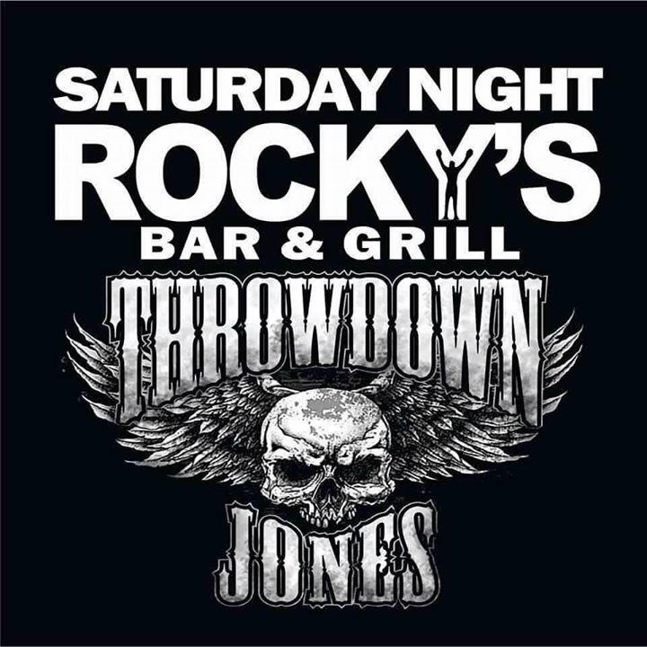 Throwdown Jones Tour Dates