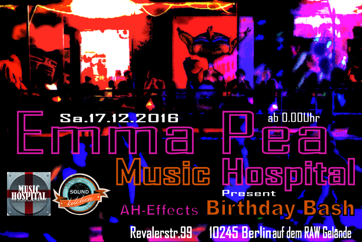 Phat Beat @ Sound Kitchen @ Emma Pea - Berlin, Germany
