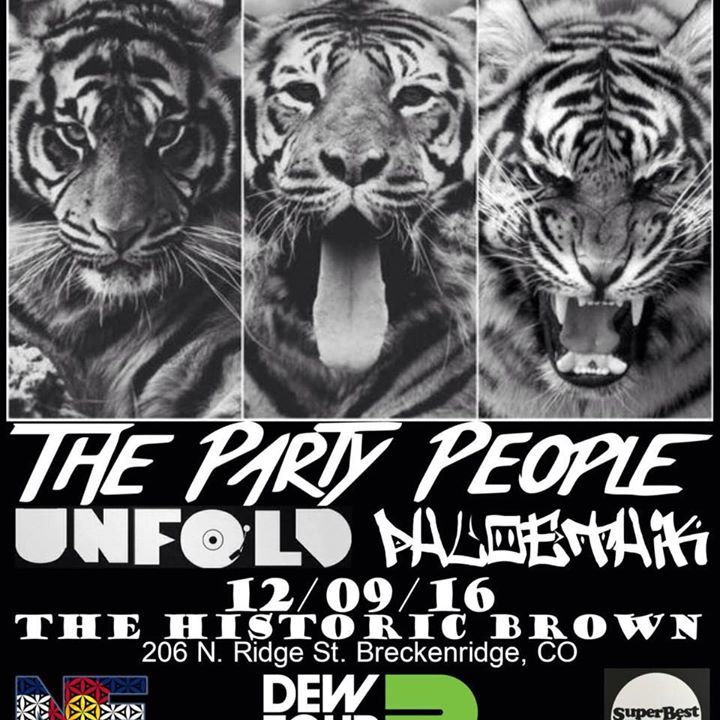 UNFOLD_Music Tour Dates