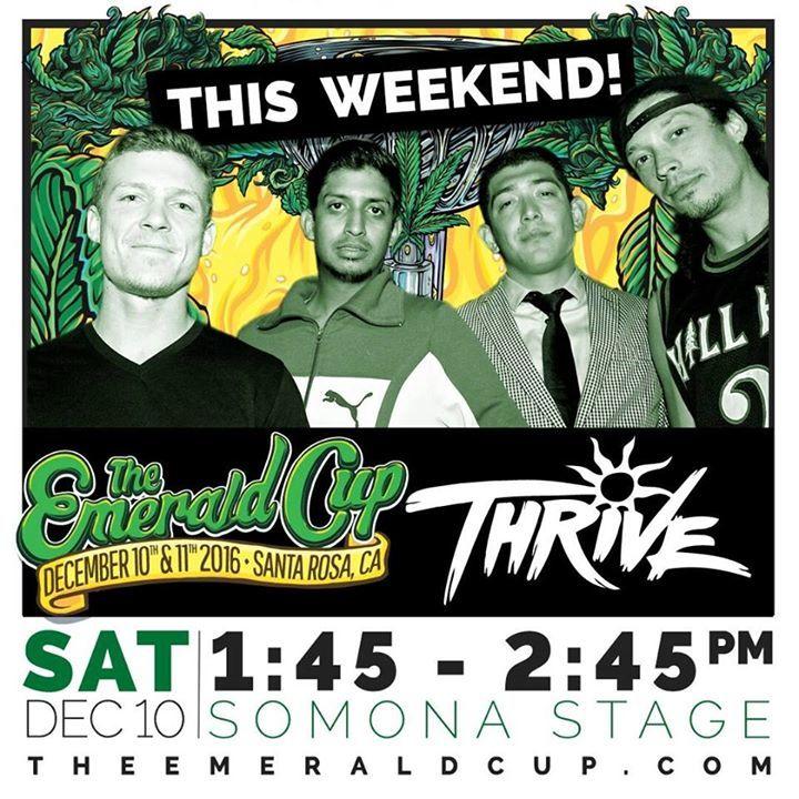 Thrive Tour Dates