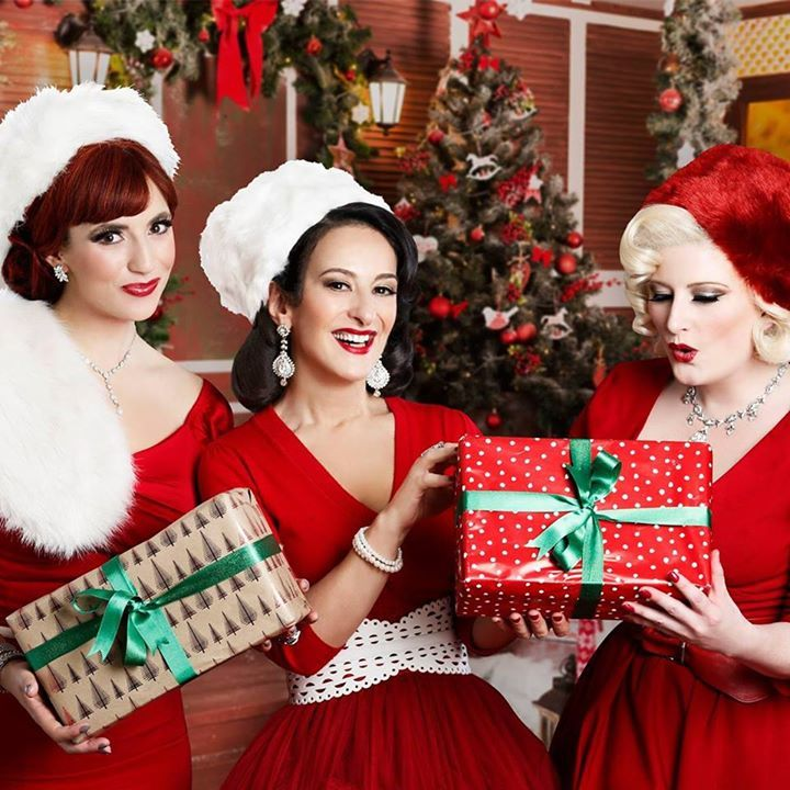 The Puppini Sisters @ Christmas At The Spiegeltent - Bristol, United Kingdom