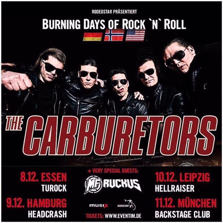 The Carburetors Tour Dates