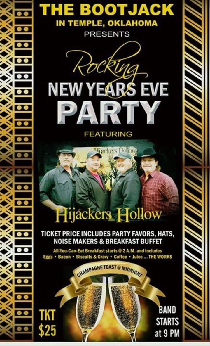 Hijackers Hollow Band @ Boot Jack - Temple, OK