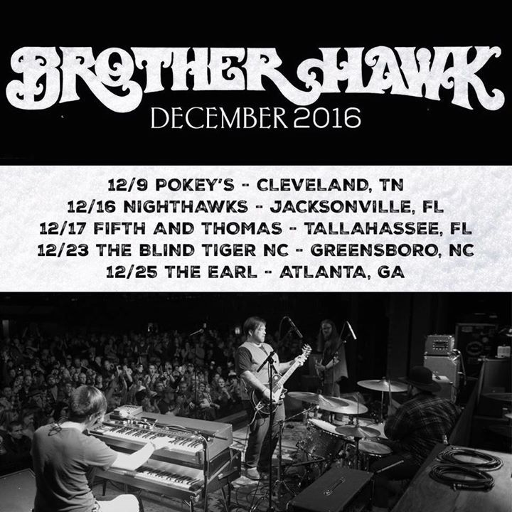 Brother Hawk @ The Blind Tiger NC - Greensboro, NC
