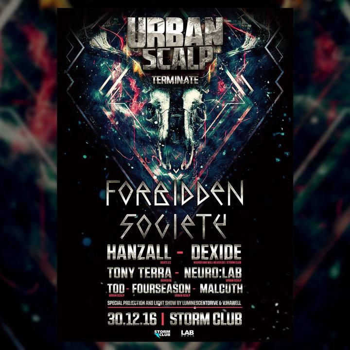 Forbidden Society @ Storm Club - Prague, Czech Republic