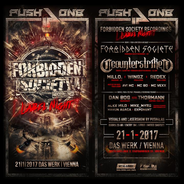 Forbidden Society @ Forbidden Society Recordings Label Night - Vienna, Austria