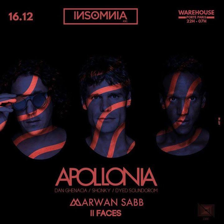 Apollonia Tour Dates