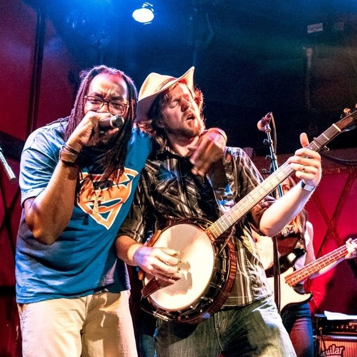 Gangstagrass @ Doudna Fine Arts Center - Charleston, IL