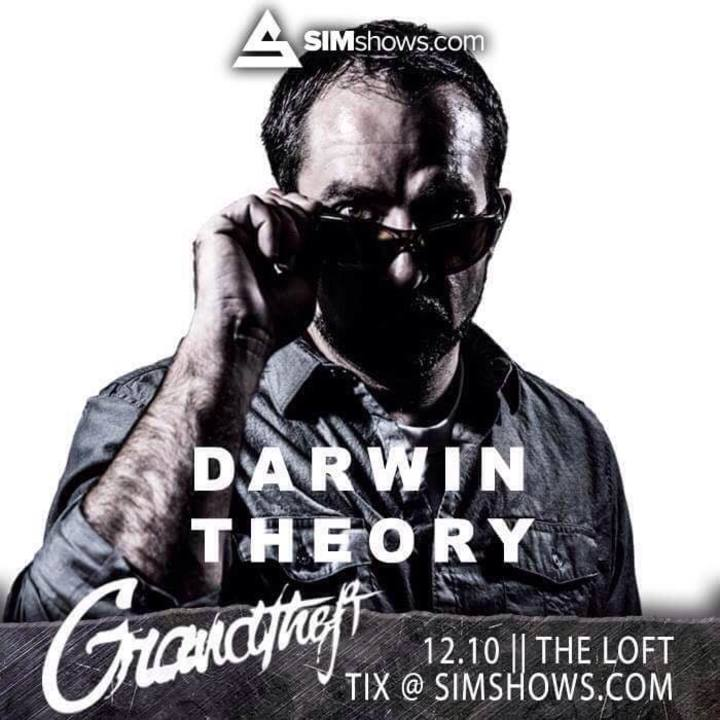 Darwin Theory Tour Dates