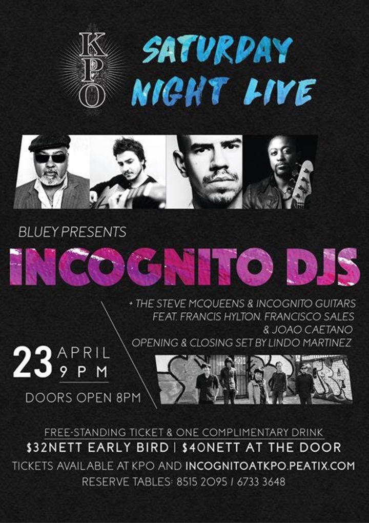 Incognito DJs Tour Dates