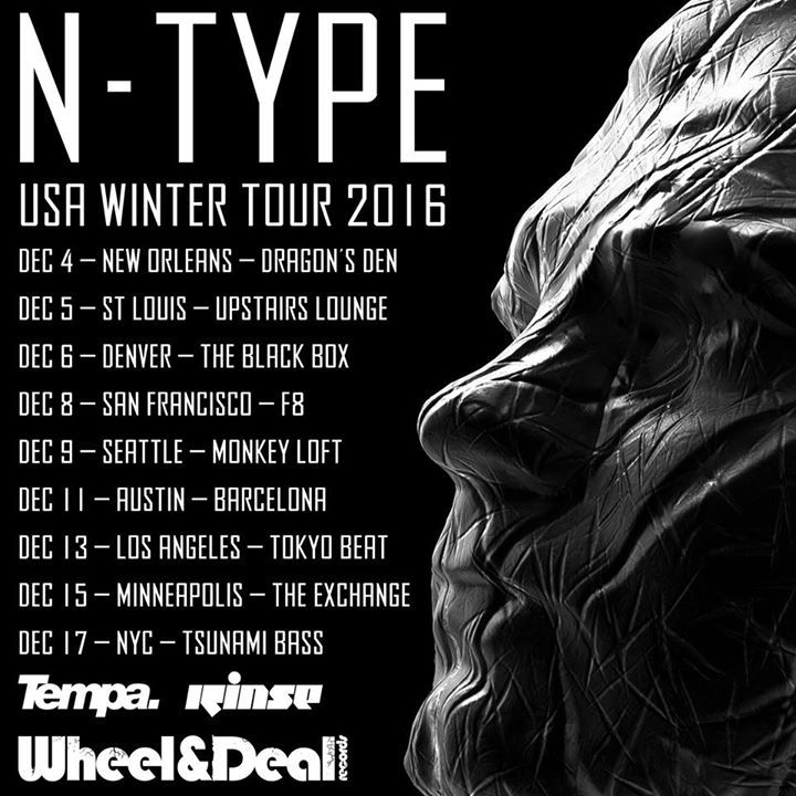 N-Type Tour Dates