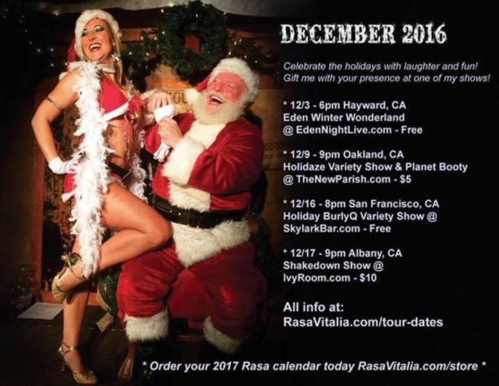 Rasa Vitalia Tour Dates