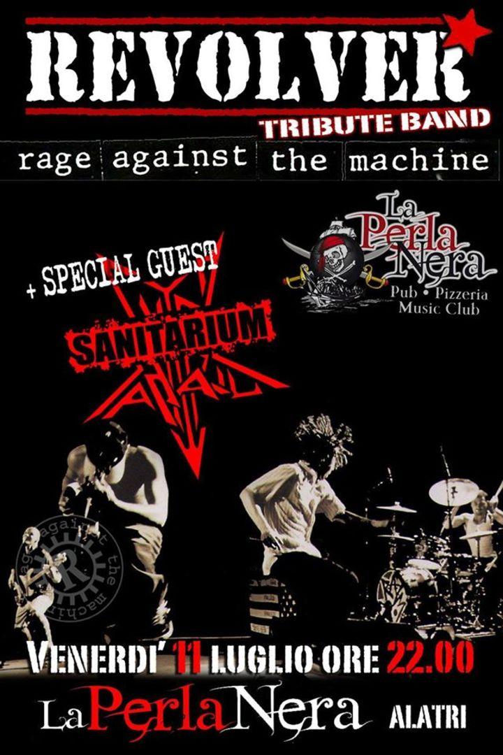 Revolver - Rage Against The Machine Tribute Tour Dates
