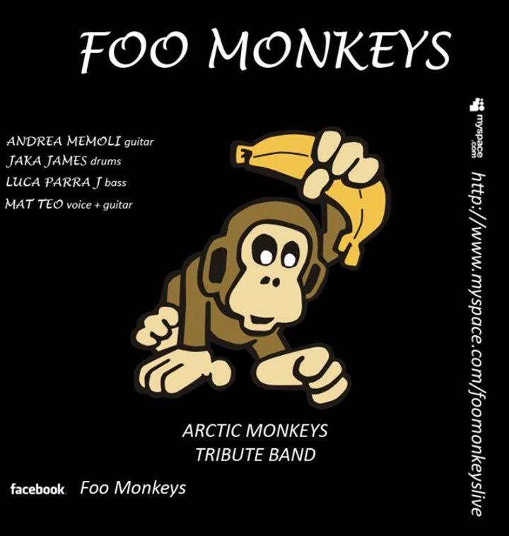 Foo Monkeys Tour Dates