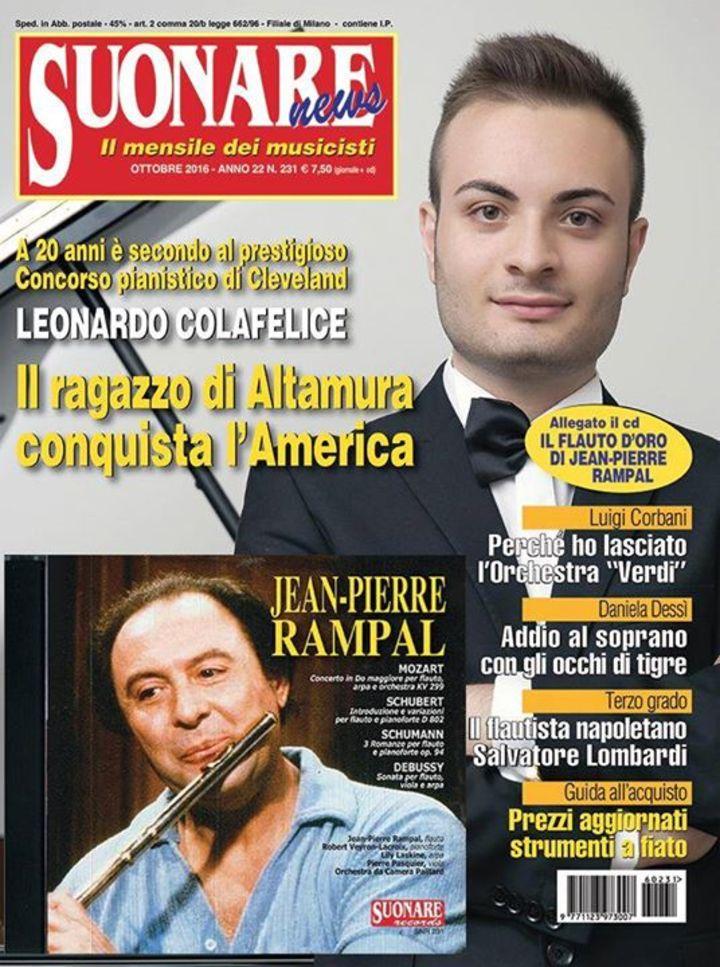Leonardo Colafelice @ Teatro Mercadante Altamura - Bari, Italy