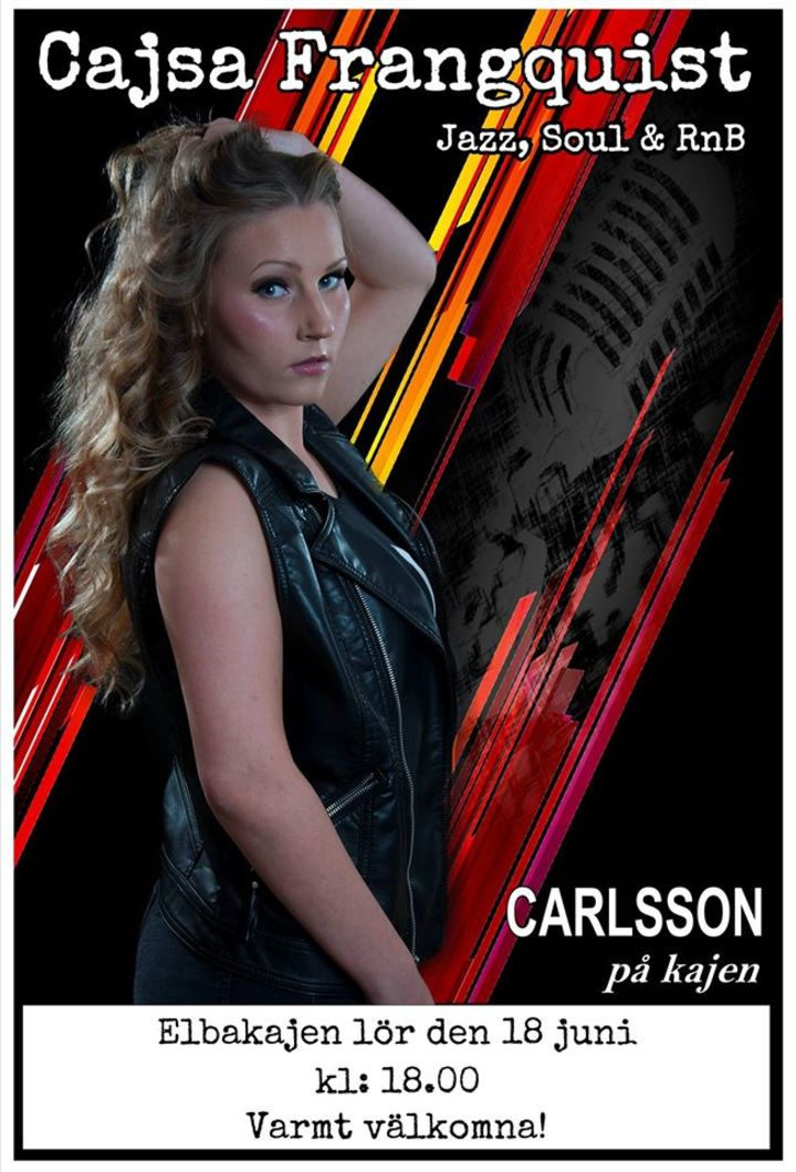 Cajsa Frangquist Tour Dates