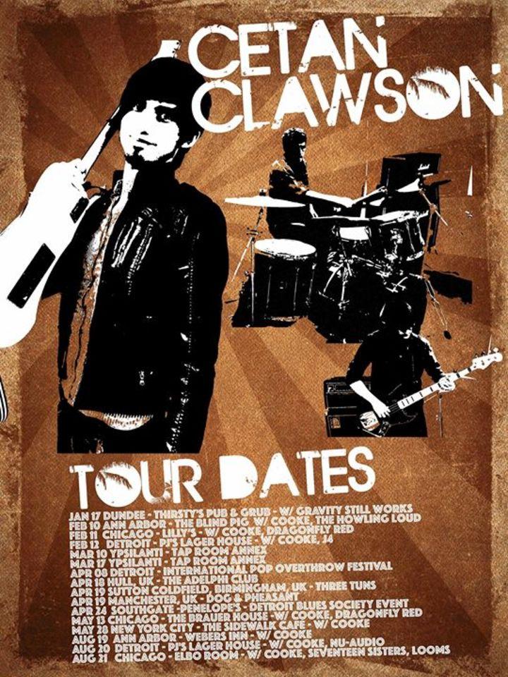 Cetan Clawson Tour Dates
