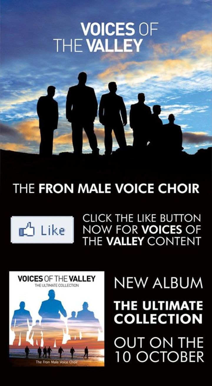 Voices of the Valley - The Fron Male Voice Choir Tour Dates
