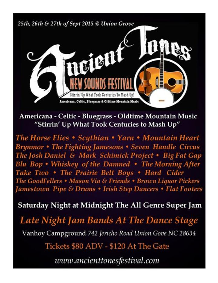 The Ancient Tones Tour Dates