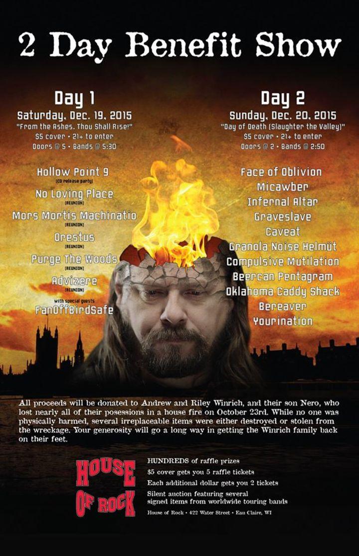 Eau Claire Uprising Tour Dates