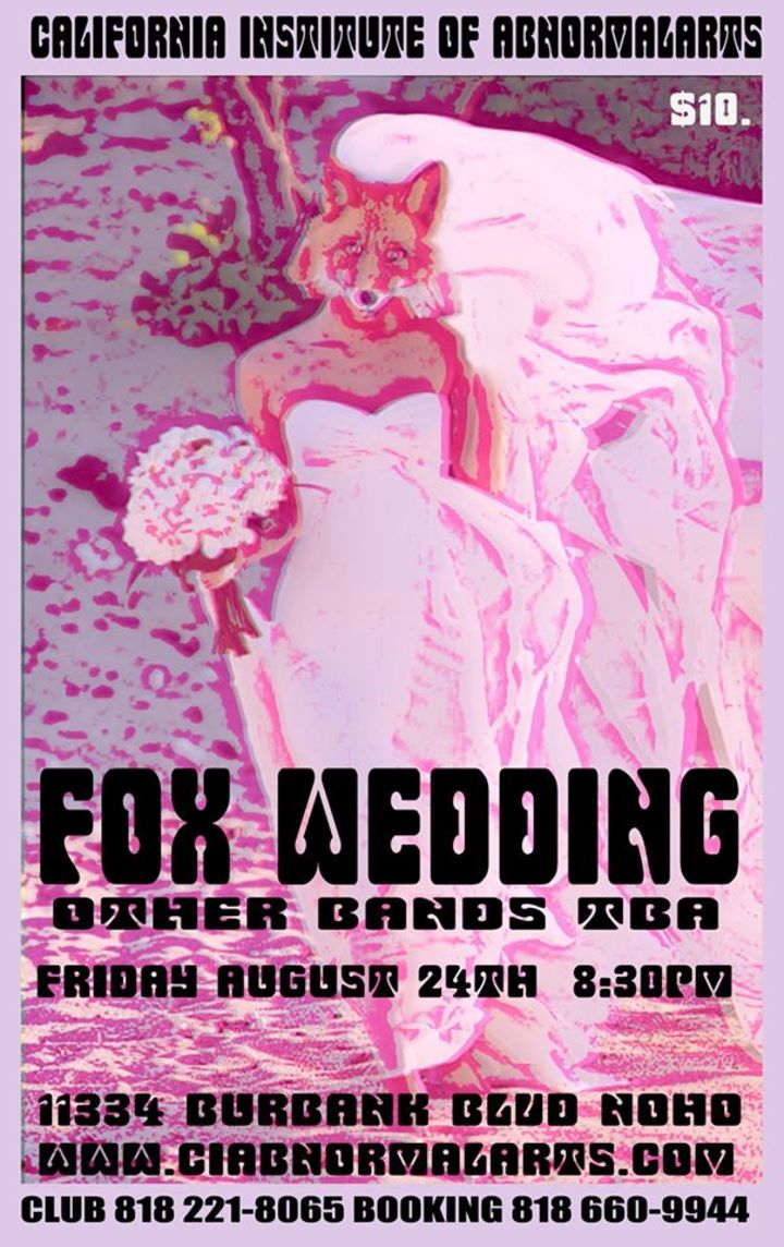 Fox Wedding Tour Dates