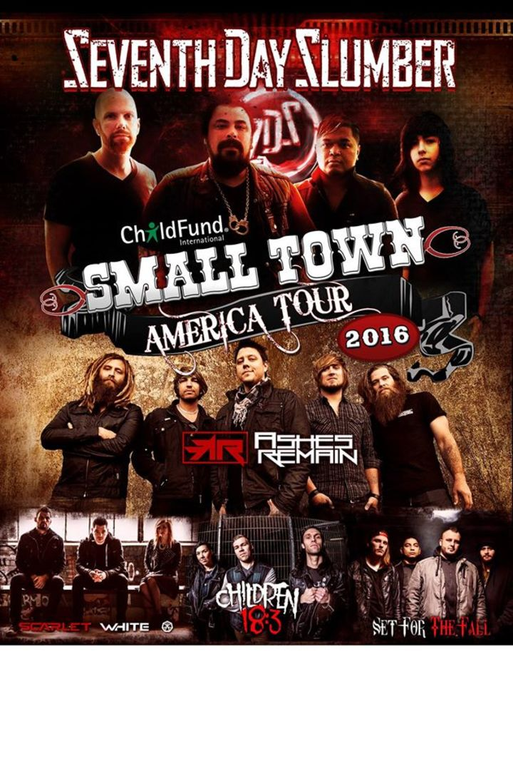 Small Town America Tour  Tour Dates