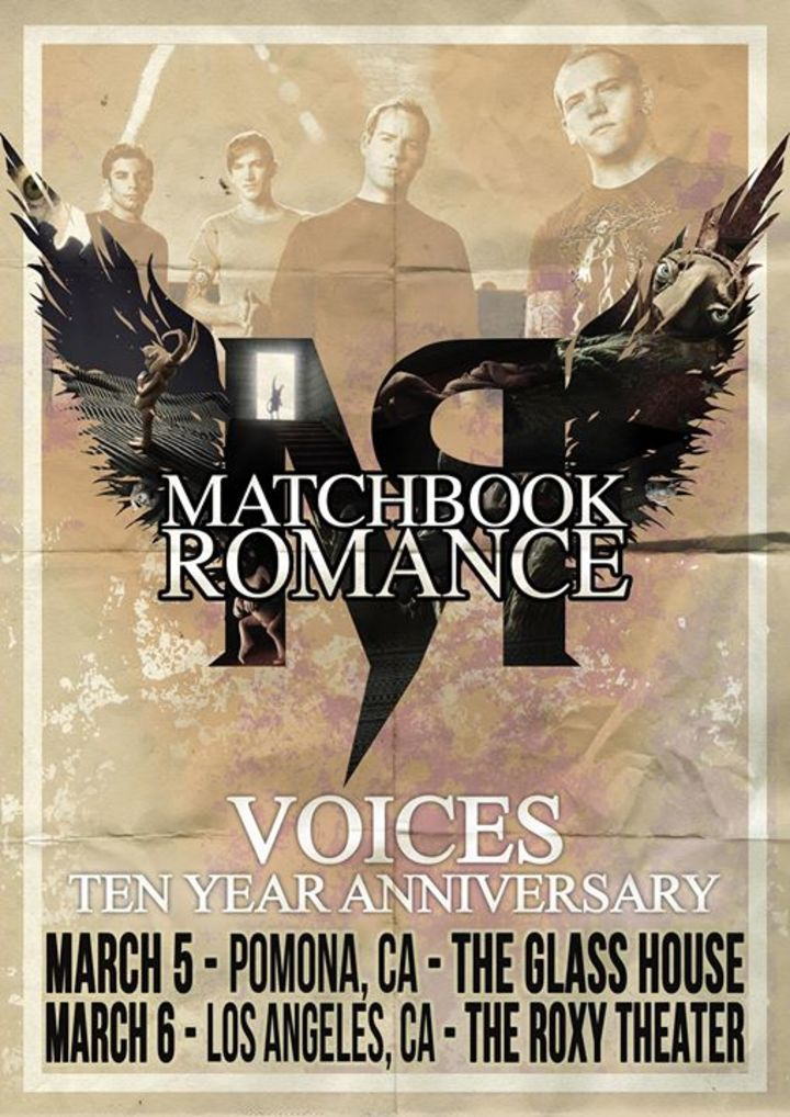 Matchbook Romance Tour Dates