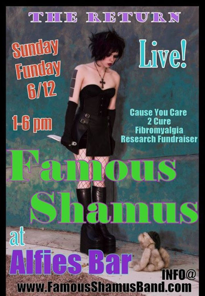 Famous Shamus Tour Dates