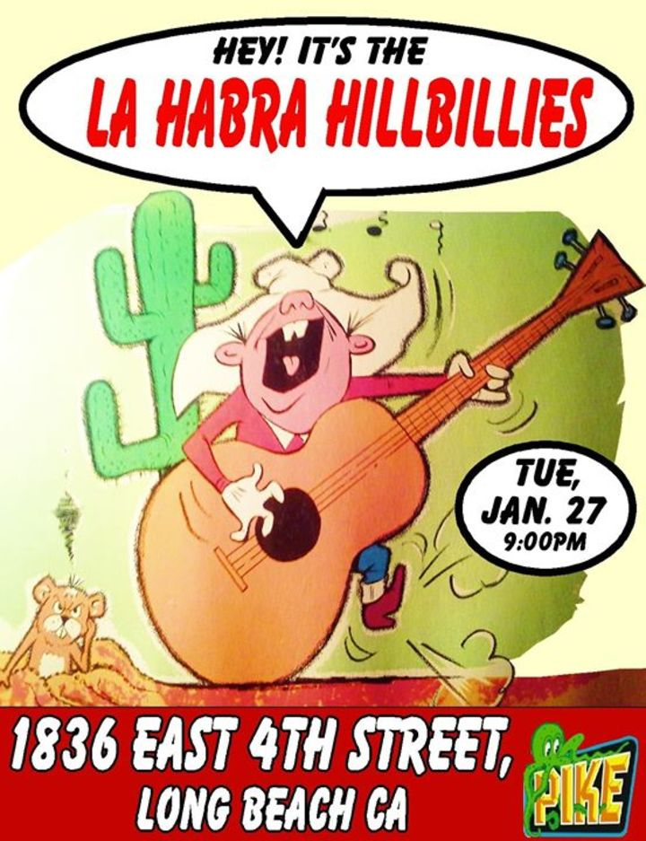 The La Habra Hillbillies Tour Dates