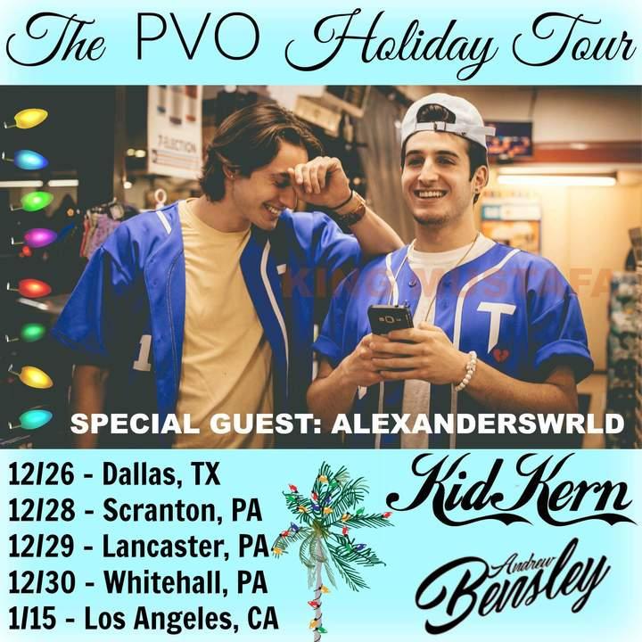 Kid Kern Tour Dates