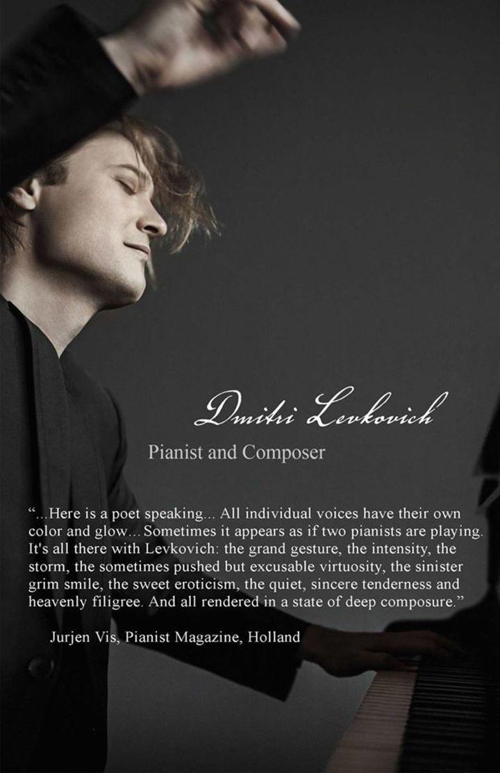 Dmitri Levkovich Tour Dates