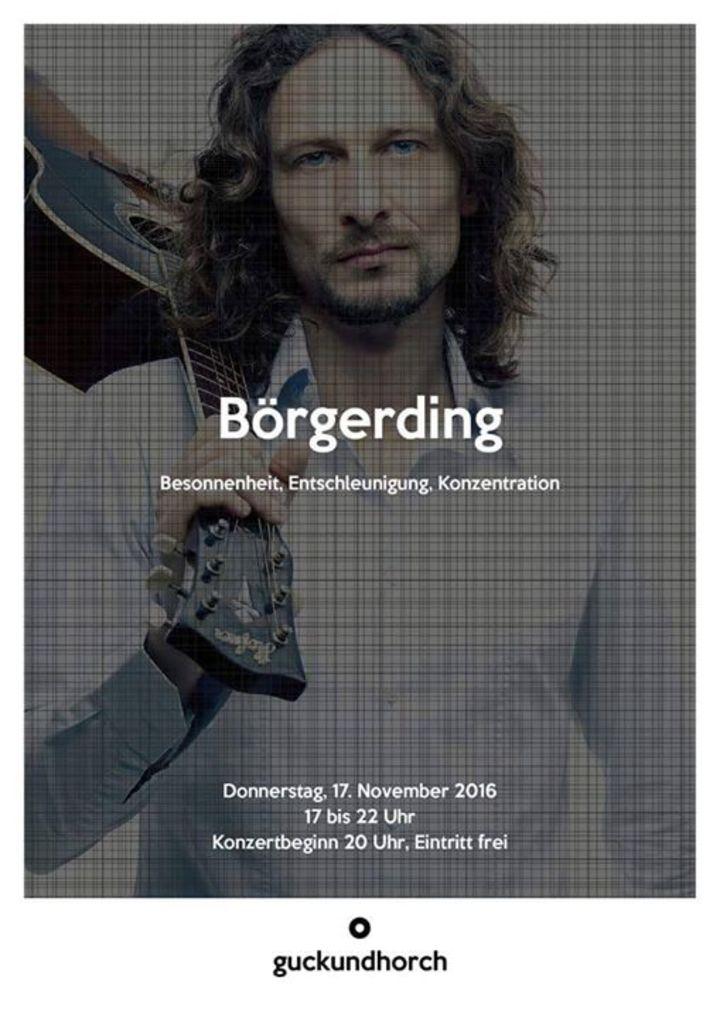Börgerding Tour Dates